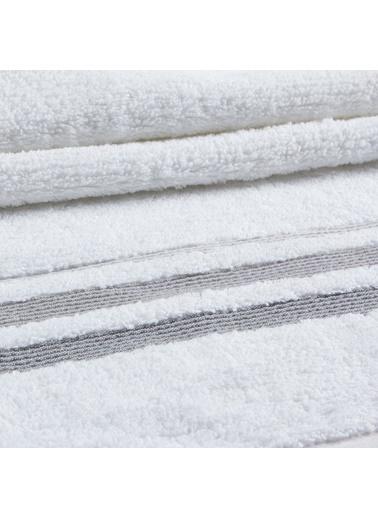 Basics By Chakra Elısa Banyo Havlusu 70*140 Beyaz Beyaz